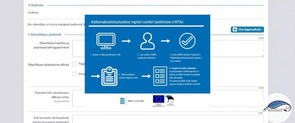 Kuidas käib käibemaksukohustuslaseks registreerimine?